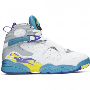 Wmns Air Jordan 8 Retro white/varsity red-bright concord | Air Jordan