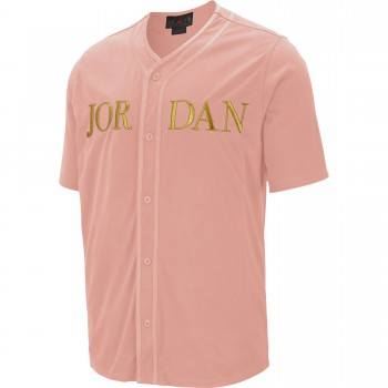 T-shirt Jordan Remastered coral stardust/metallic gold | Air Jordan
