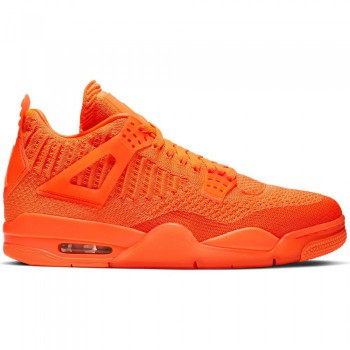 Air Jordan 4 Retro Flyknit total orange/total orange-total orange | Air Jordan
