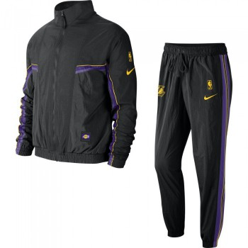 Los Angeles Lakers Nike black/black/field purple | Nike