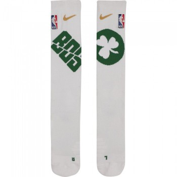 Chaussettes Boston Celtics Nike Elite white/clover/club gold | Nike
