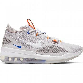 Nike Air Force Max Low vast grey/white-wolf grey-total orange | Nike