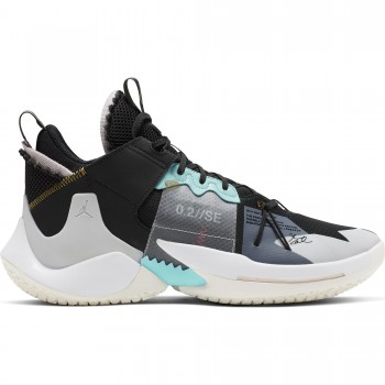 Jordan why Not? Zer0.2 Se black/vast grey-white-sail | Air Jordan