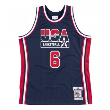 Authentic Jersey Nba - Patrick Ewing Ajy4gs18412-usanavy92pew-xs | Mitchell & Ness