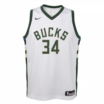 Maillot NBA Enfant Giannis Antetokounmpo Milwaukee Bucks Swingman Association Nike | Nike