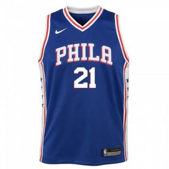 Maillot NBA Enfant Joel Embiid Philadelphia 76ers Swingman Icon  Nike | Nike