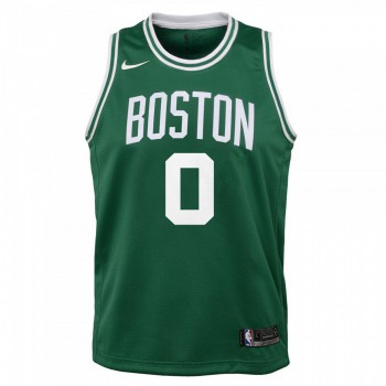 Maillot NBA Enfant Jayson Tatum Boston Celtics Swingman Icon Nike | Nike