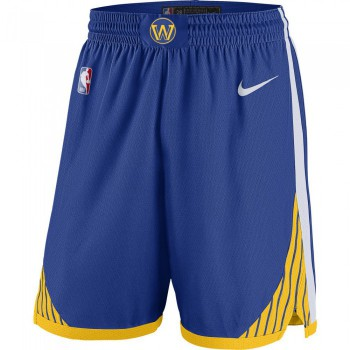 Short NBA Golden State Warriors Nike Icon Edition Swingman rush blue/white/amarillo/white | Nike