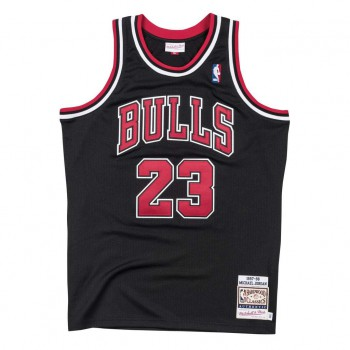 Authentic Jersey '97 Chicago Bulls Ajy4gs18400-cbublck97mjo-2xl NBA | Mitchell & Ness