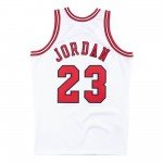 Authentic Jersey '95 Chicago Bulls Ajy4gs18076-cbuwhit95mjo-2xl NBA (image n°7)