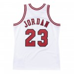 Authentic Jersey '96 Chicago Bulls Ajy4cp19013-cbuwhit96mjo-2xl NBA (image n°7)