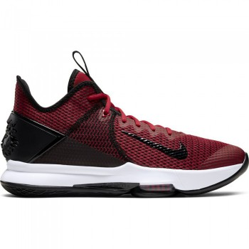 Nike LeBron Witness Iv black/gym red-white | Nike