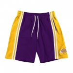 Short NBA Los Angeles Lakers French Terry Shoref18032-lalpurpkbr-s (image n°1)