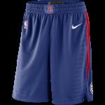 Color  Bleu du produit Short NBA Enfant Los Angeles Clippers Nike Icon...