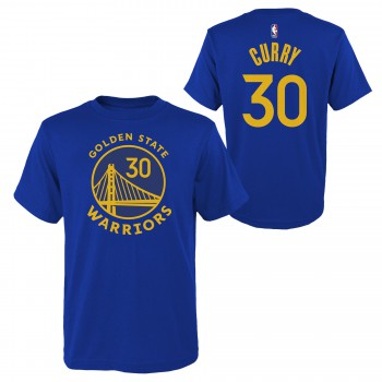 Flat Replica N&n Ss Tee Warriors Curry Stephen Nba Nike | Nike