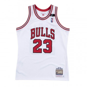 Maillot NBA Michael Jordan Chicago Bulls 1991-92 Authentic Mitchell&Ness The Shrug | Mitchell & Ness
