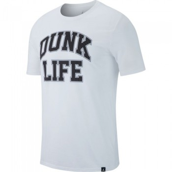 T-shirt Jordan Rise Verbiage Basketball white/black | Air Jordan