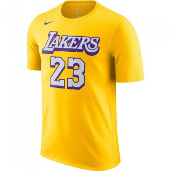 T shirt NBA LeBron James Los Angeles Lakers Nike City Edition Name&Number Dry Tee Fnw