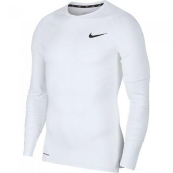 T-shirt manches longues Nike Pro white/black | Nike