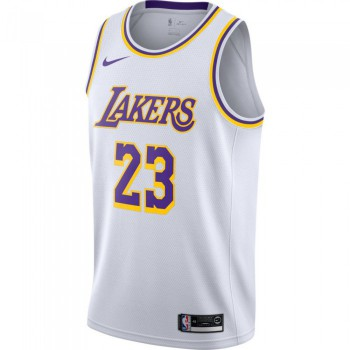 Maillot LeBron James Los Angeles Lakers Nike NBA Association Edition swingman | Nike