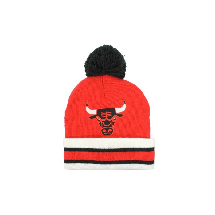 Bonnet Mitchell&Ness Chicago Bulls rouge KE31ZCHIBUL