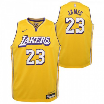 Boys City Edition Swingman Jer Lakers Lebron James Nba Nike | Nike