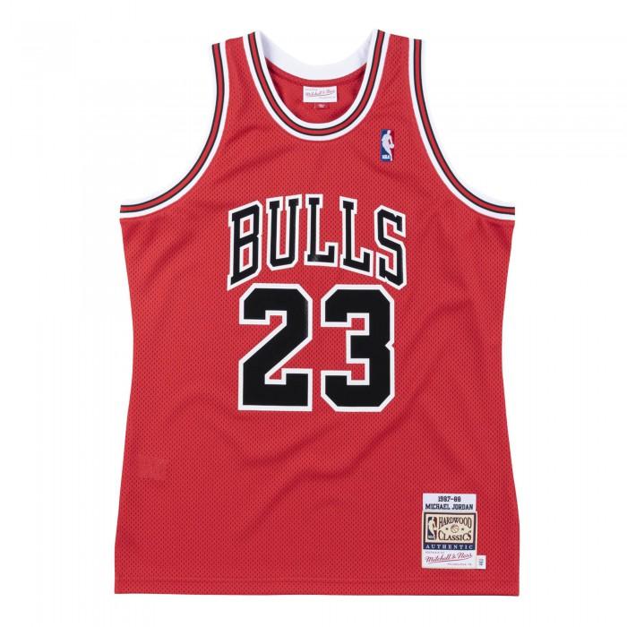 Authentic Jersey - Michael Jordan Ajy4cp19025-cbured187mjo-l NBA