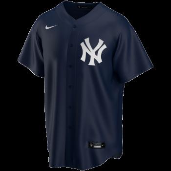 New York Yankees Mlb Nike Official Replica Alternate Jerseyteam Dark Navy | Nike