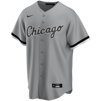 Chicago White Sox Mlb Nike Official Replica Road Jerseyteam Base Grey | Nike