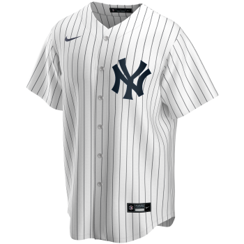New York Yankees Mlb Nike Official Replica Home Jerseywhite  Navy Winning | Nike