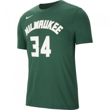 T-shirt Giannis Antetokounmpo Milwaukee Bucks Nike Dri-fit fir/antetokounmpo g NBA | Nike