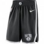 Short Brooklyn Nets Nike Icon Edition Swingman black/white NBA (image n°3)