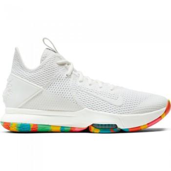 Nike Lebron Witness 4 summit white/summit white-opti yellow | Nike