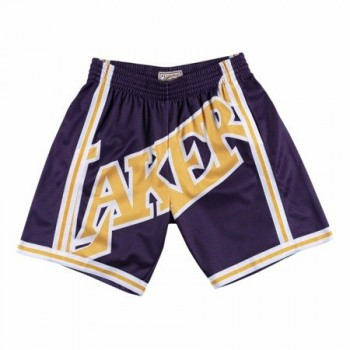 Big Face Short Lakers 96-97 | Mitchell & Ness