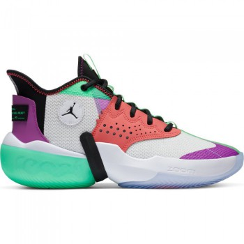 Jordan React Elevation white/black-hyper violet-flash crimson | Air Jordan