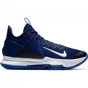 Nike LeBron Witness Iv (team) deep royal blue/white-racer blue | Nike