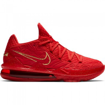 Lebron 17 Low Ph university red/metallic gold | Nike
