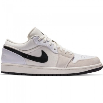 Air Jordan 1 Low Premium sail/black-white | Air Jordan