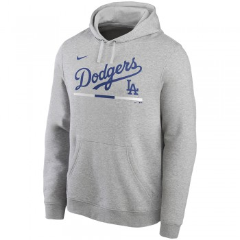 Nike Color Bar Club Pullover Hoodie La Dodgers | Nike