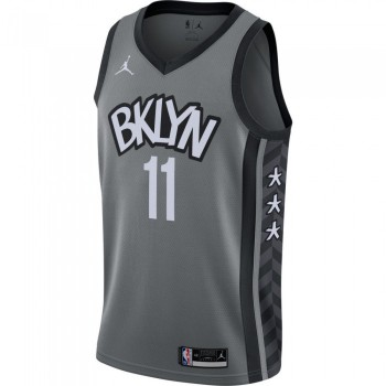 Maillot Kyrie Irving Nets Statement Edition 2020 dark steel grey/black/irving kyrie NBA | Air Jordan