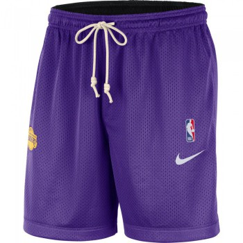 Short Lakers Standard Issue field purple/black/amarillo/white NBA | Nike
