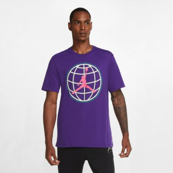 T-shirt Jordan Winter Utility Jumpman court purple | Air Jordan