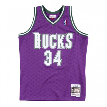 Maillot Nba Milwaukee Bucks Ray Allen '00 Mitchell & Ness Swingman   Mitchell & Ness