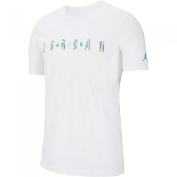 T-shirt Jordan Sport Dna white/neptune green | Air Jordan
