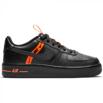 Nike Air Force 1 Lv8 black/black-total orange | Nike