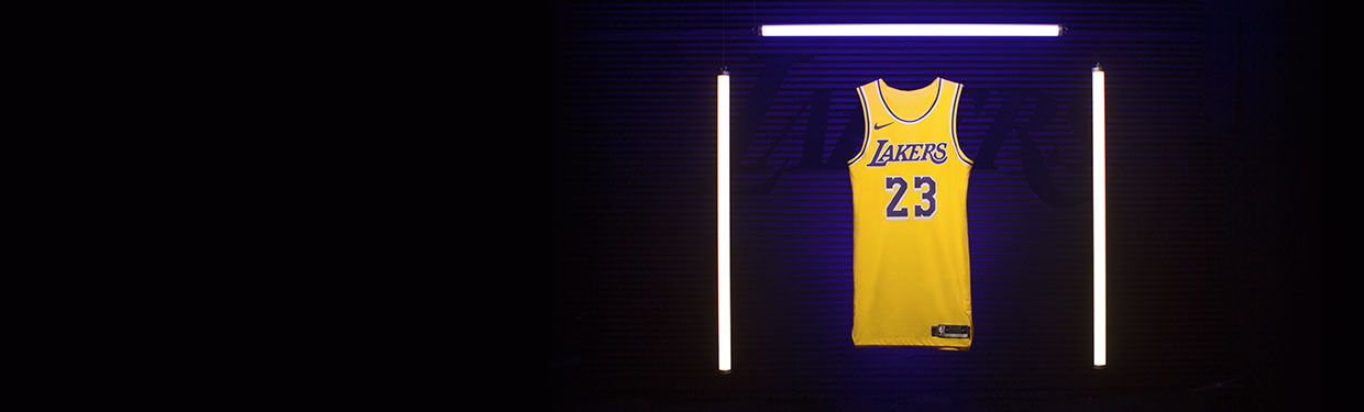 Jersey Lakers 18-19 Lebron James