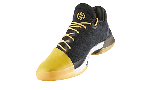 Vue de profil adidas Harden Vol. 1 Fear The Fork