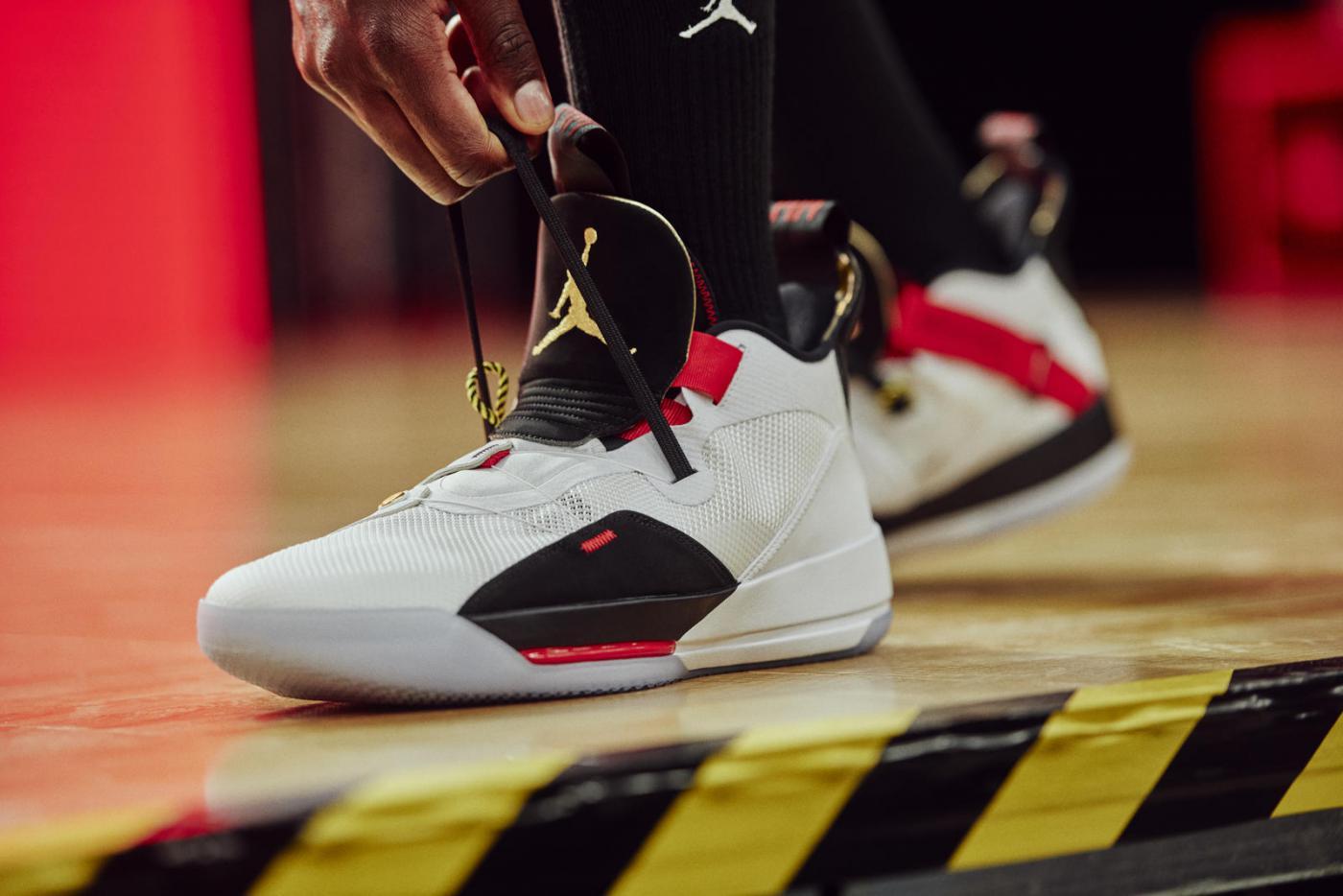 Air Jordan XXXIII : Nouvelle technologie pour une paire parée au ...